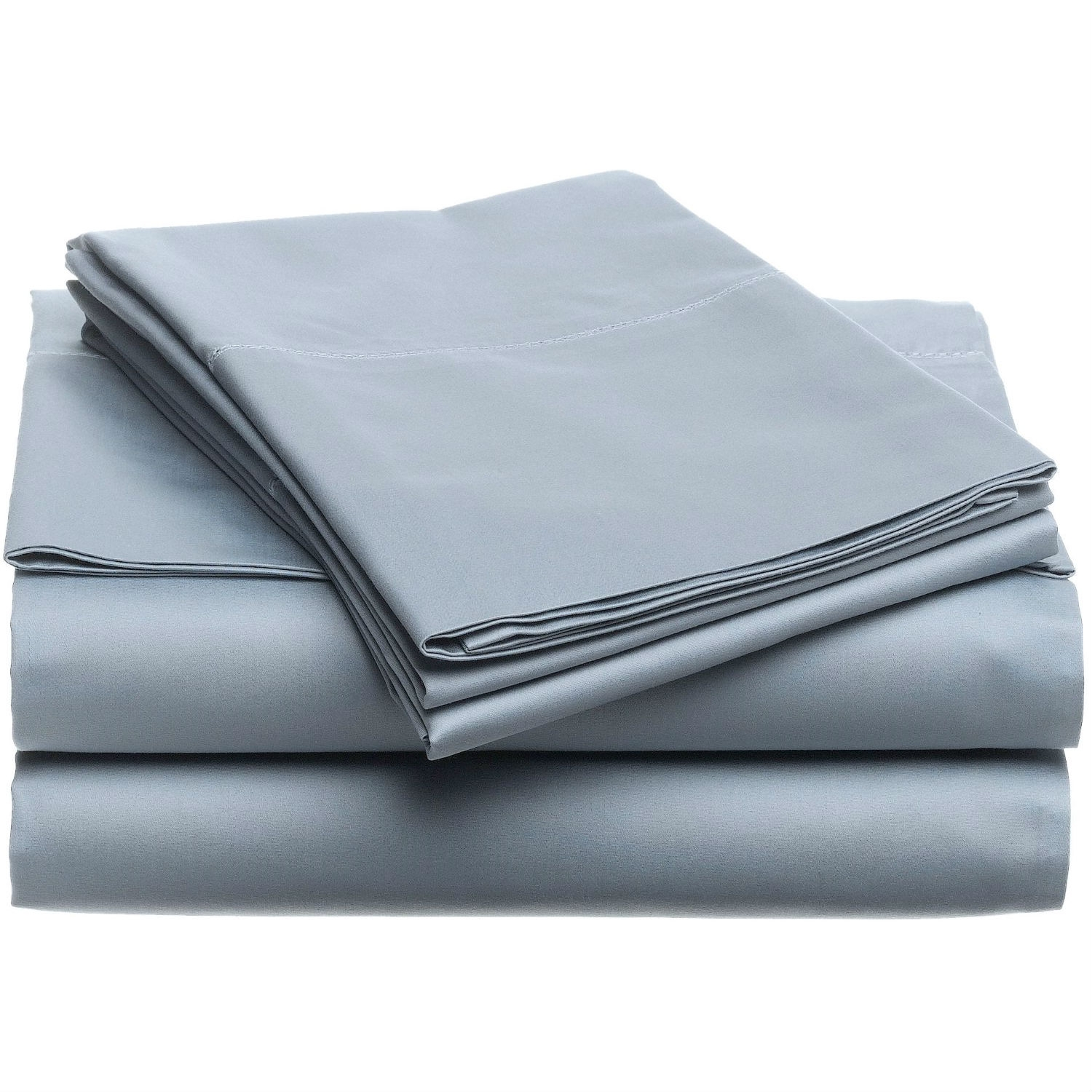 100 Egyptian Cotton Sheets Queen 400 Thread Count Egyptian Cotton Sheet Set In Smokey Blue