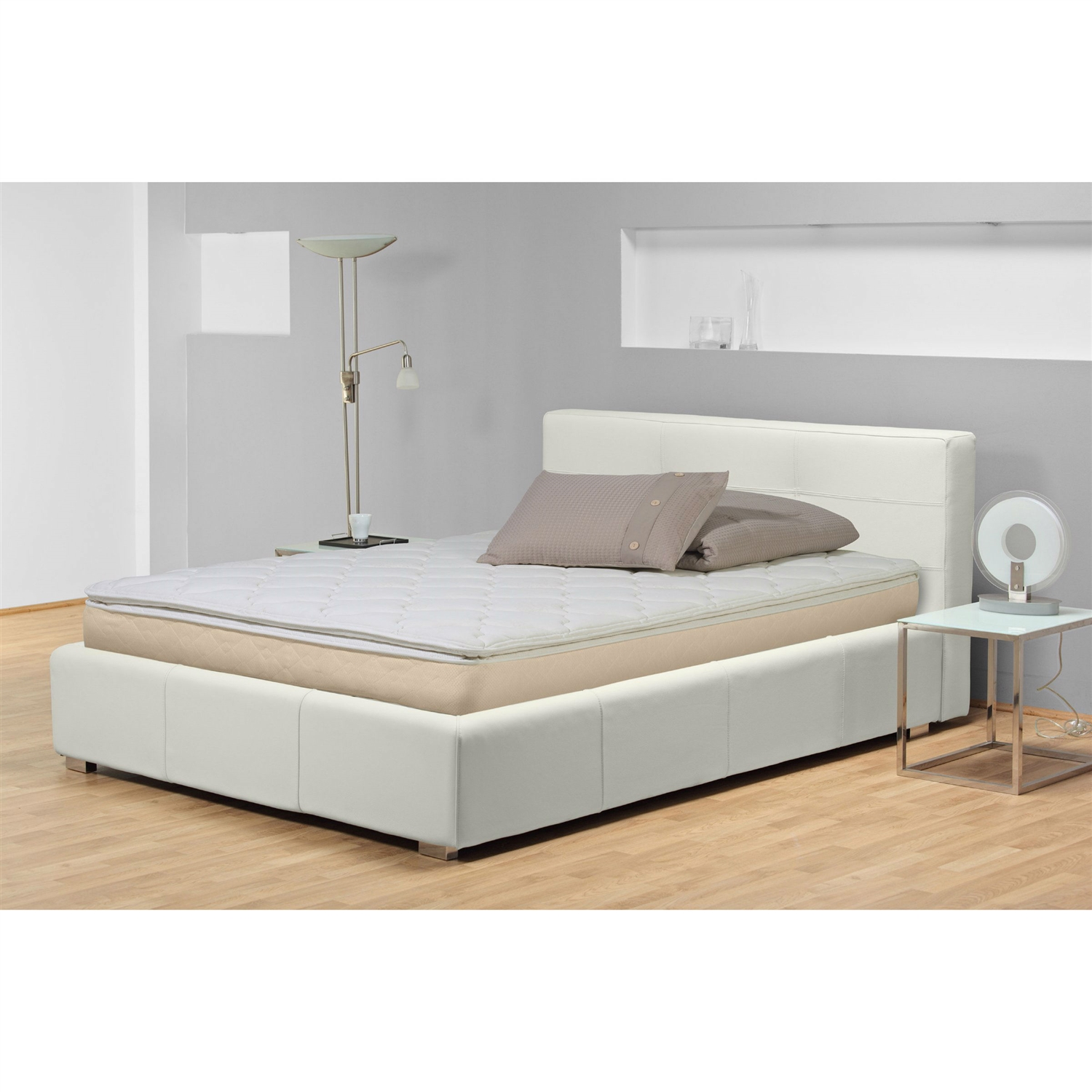 Bedroom Mattress Queen Size 10 Inch Thick Pillow Top Innerspring Mattress