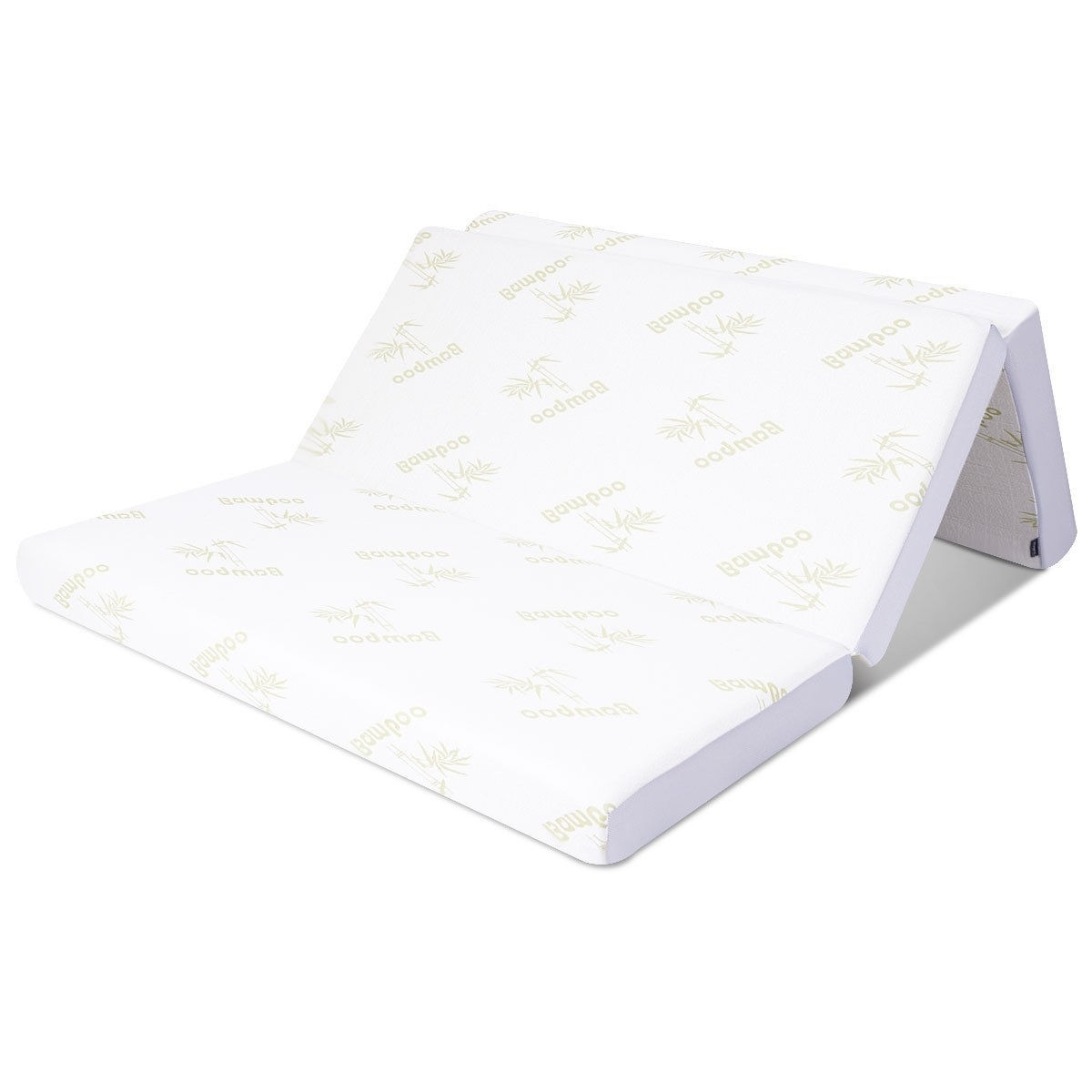 Foldable Foam Mattress Queen Size 6 Inch Folding Memory Foam Mattress With Washable Cover