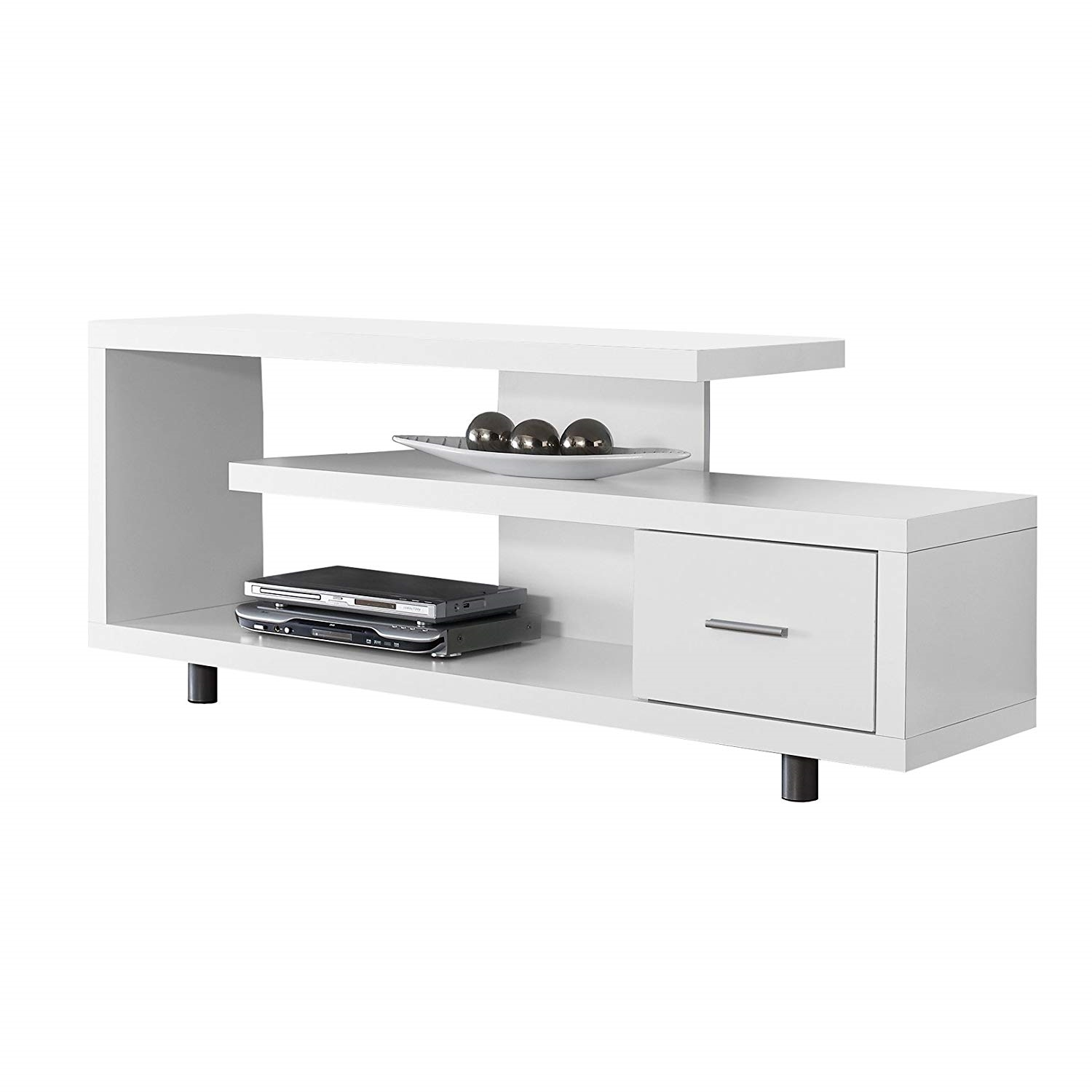 Modern Tv White Modern Tv Stand Fits Up To 60 Inch Flat Screen Tv