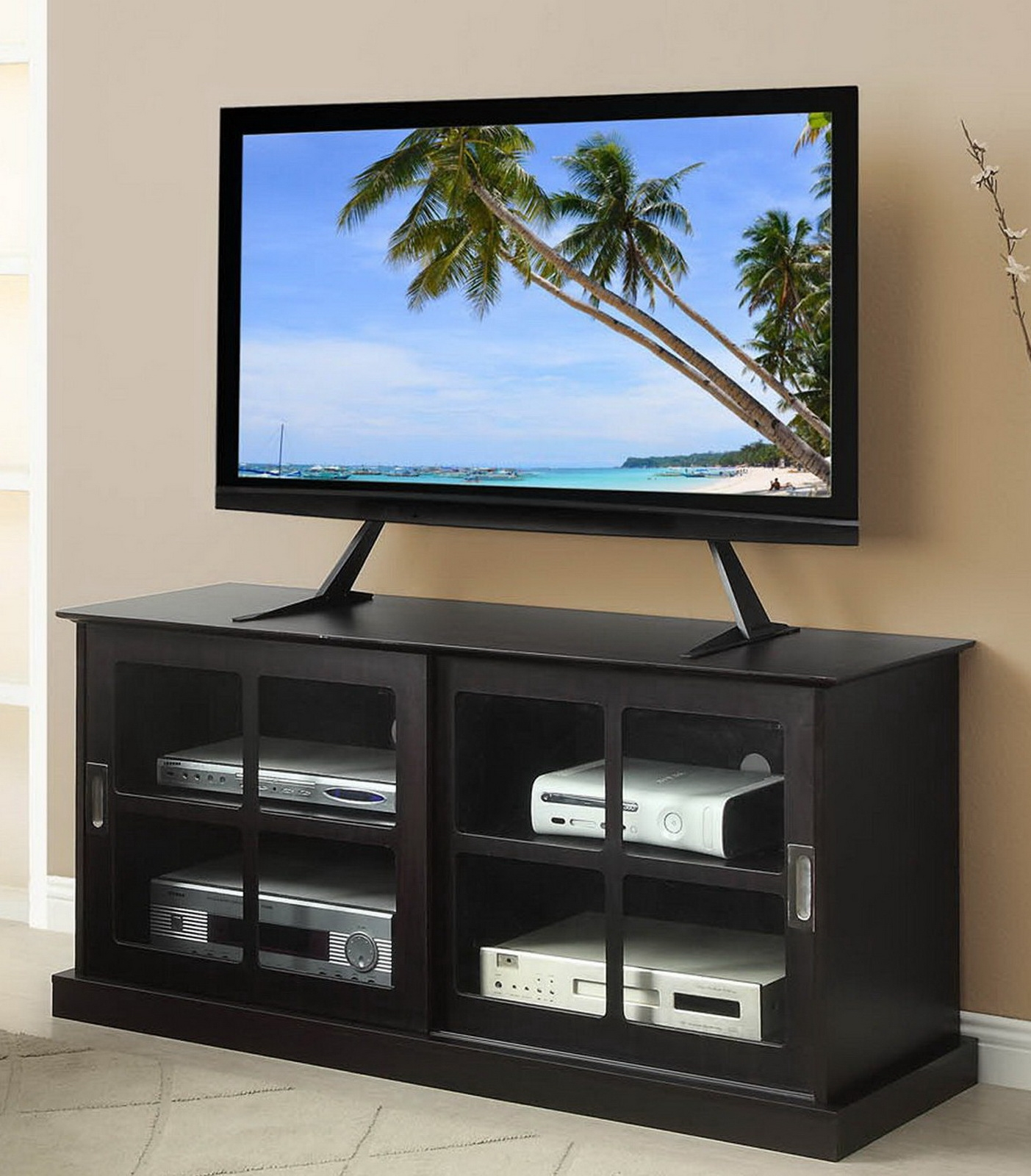 Flat Screen Tv Stands New Table Top Flat Screen Tv Stand Up To 42