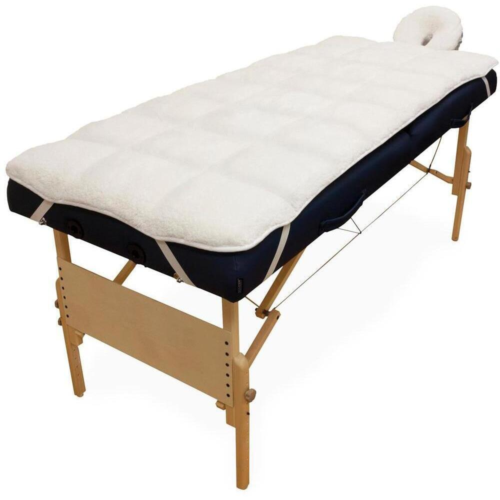 Futon Massage Sposh Deluxe Quilted Massage Table Fleece Pad Set