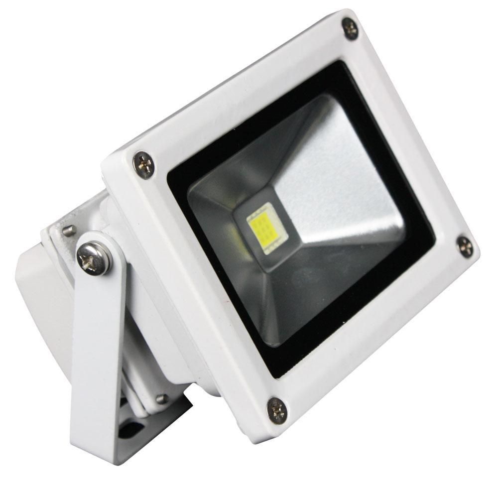 12v 10w Lunasea Outdoor Led Flood Light 12v 10w 900 Lumens Cool White