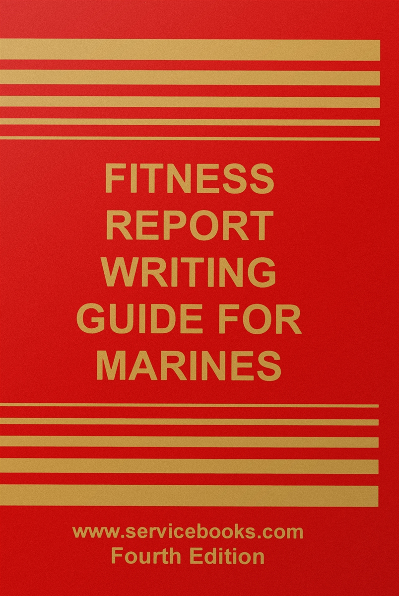 Writing Guide Fitness Report Writing Guide For Marines