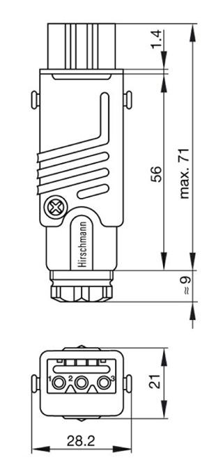 hirschmann power antenna wiring diagram