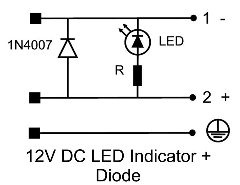 wiring a diode for 12v
