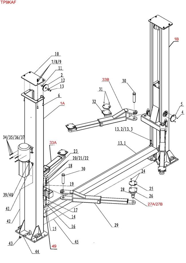 eagle 2 45 lift wiring diagram