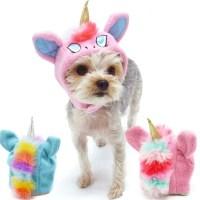Unicorn Hat Dog Costume