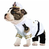 Halloween Dog Costume | Navy Admiral | Military
