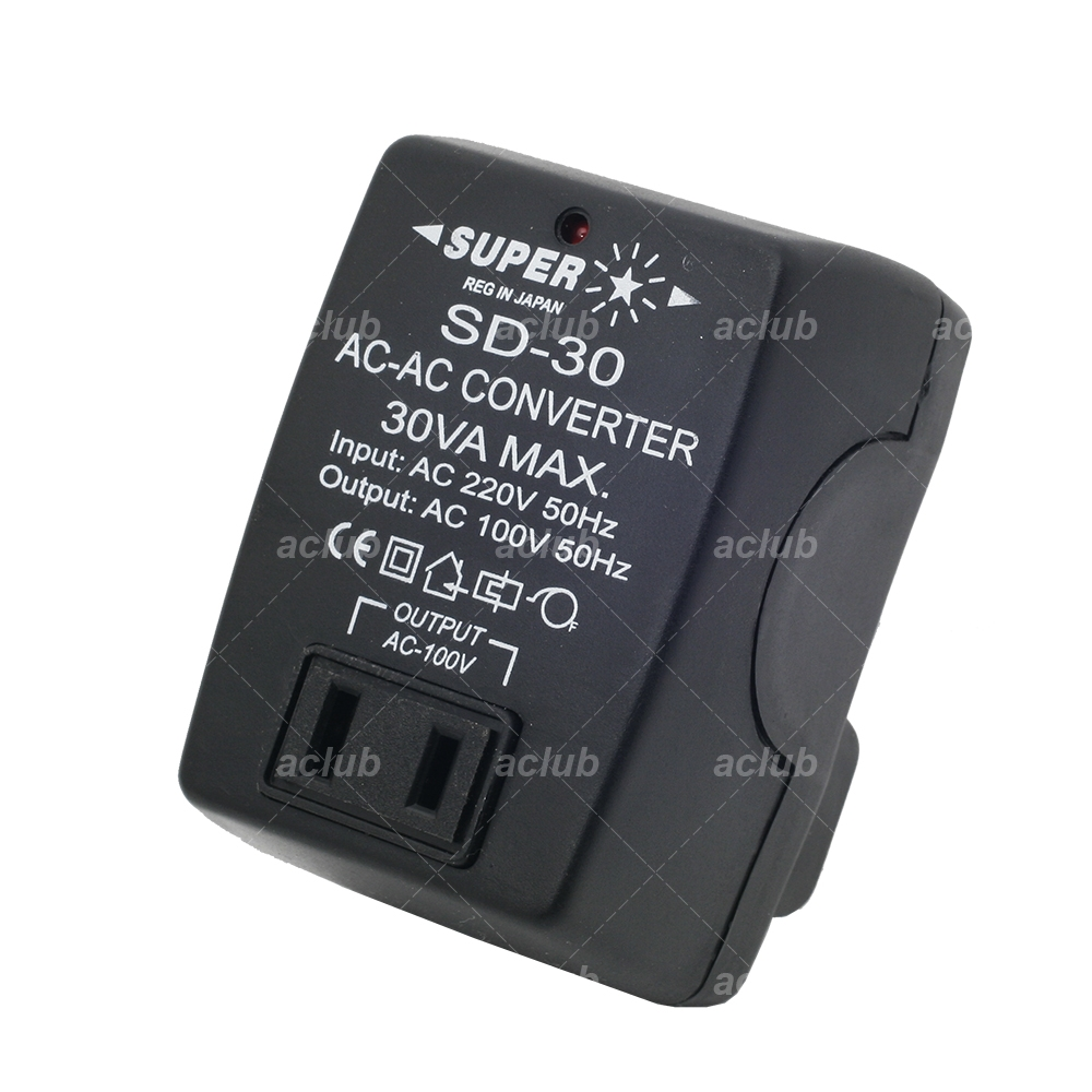 Ac Converter 30 Watt Ac Voltage Converter Transformer 30w 220v 230v 240v Step Down 100v Japan