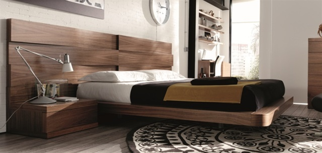 Desain Outlet Mh2g - Beds - Loop In Walnut