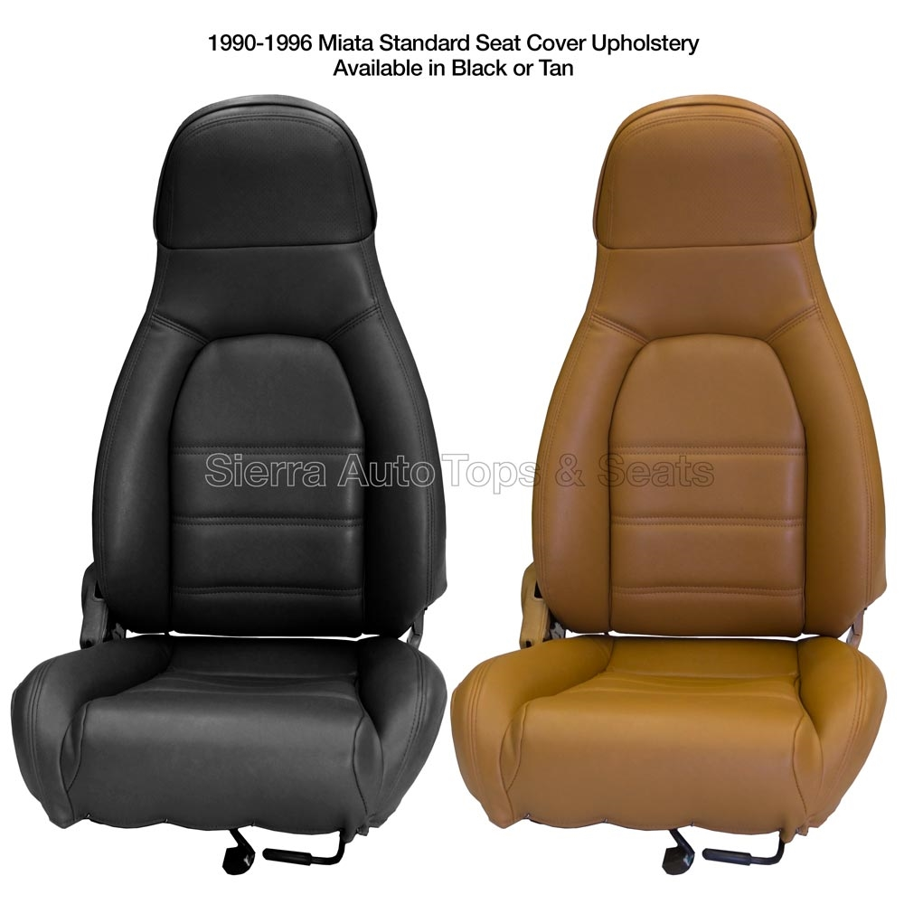 Where Can I Find Seat Covers Mazda Miata 1990 1996 Front Seat Cover Kit With Diy Installation Guide Choose Black Or Tan