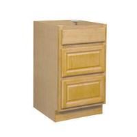 Mobile Home Bathroom Drawer Base Cabinet | Oak 30x34.5x24