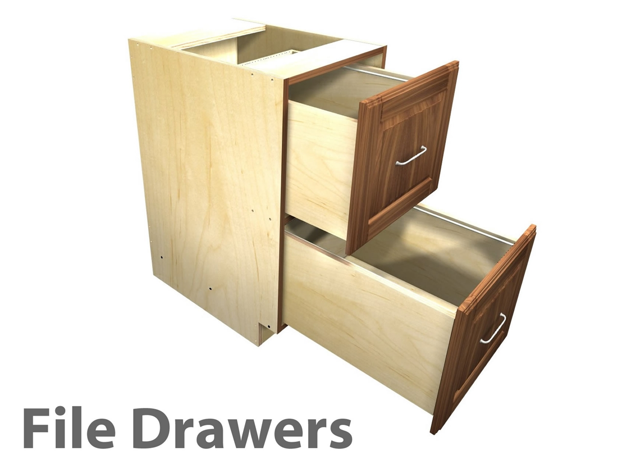 Cabinet Drawers 2 Drawer File Cabinet Letter Sized Files