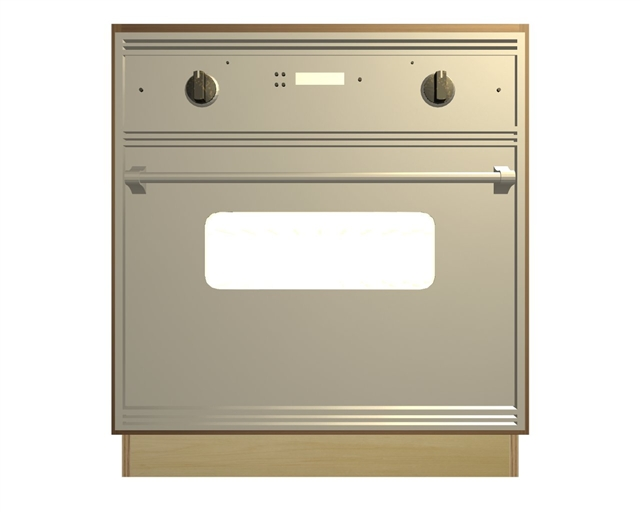 0 door wall oven and cooktop base cabinet
