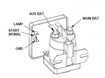 battery separator wire diagram