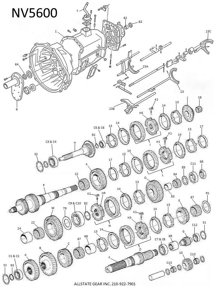 dodge transmission diagram