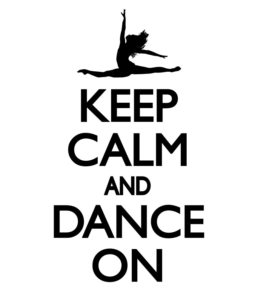 Keep Smile Quotes Wallpaper Keep Calm And Dance On Decal