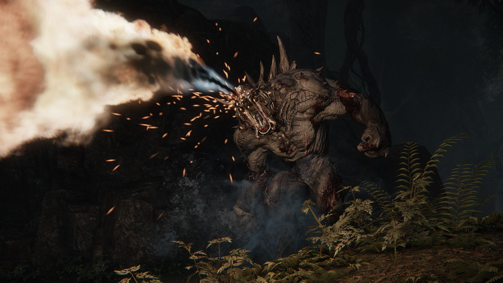3d Wallpaper Ny Giants Designing Evolve S Terrifying Video Game Monsters The Verge