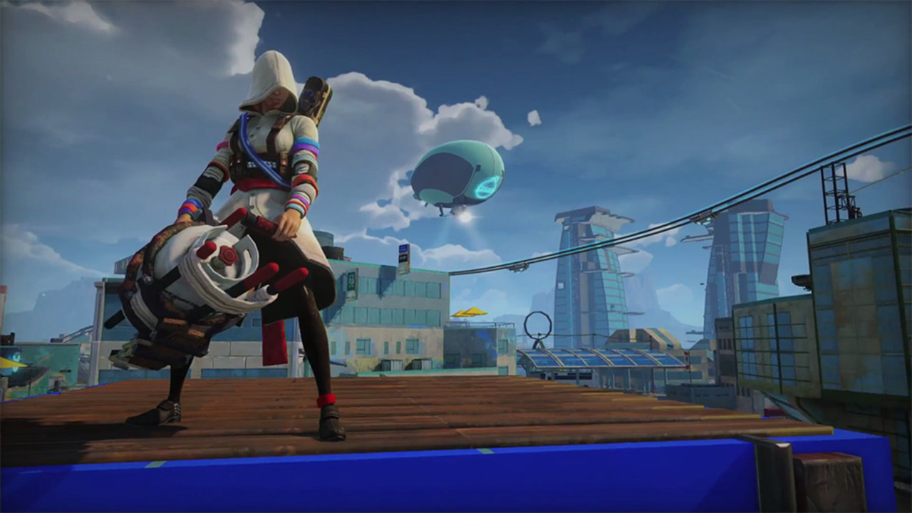 Live Fall Wallpaper For Pc Sunset Overdrive Dev Reaffirms You Can Play As A Woman