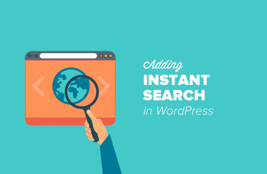 Instant Search for WordPress