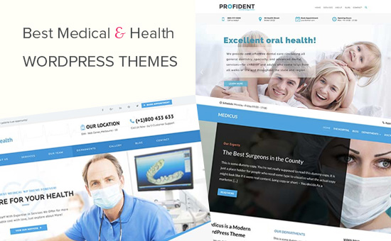22 Best Medical and Health WordPress Themes (2019)