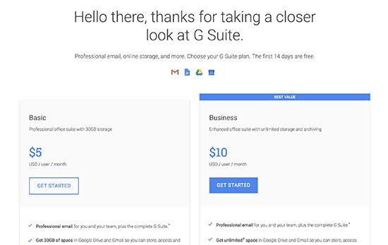 How to Setup a Professional Email Address with Gmail and G Suite