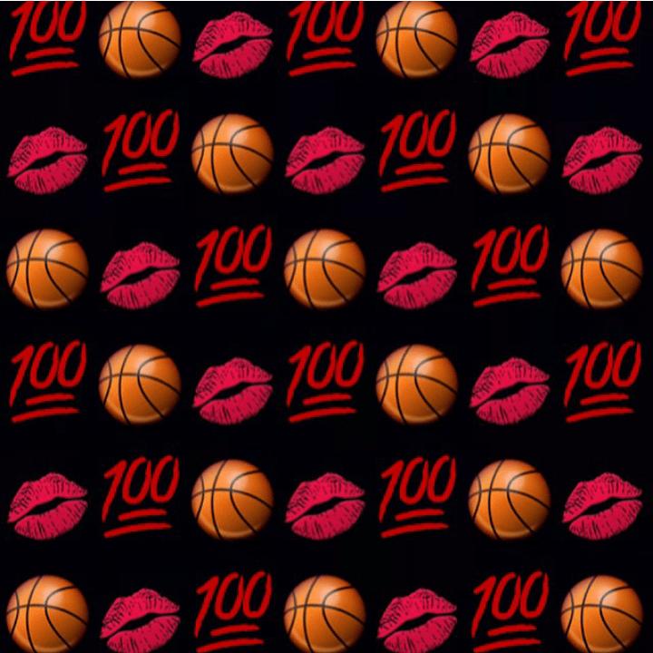 Cute Emoji Wallpaper Iphone Basketball Lips Emojis Emoji Wallpaper Lockscreen