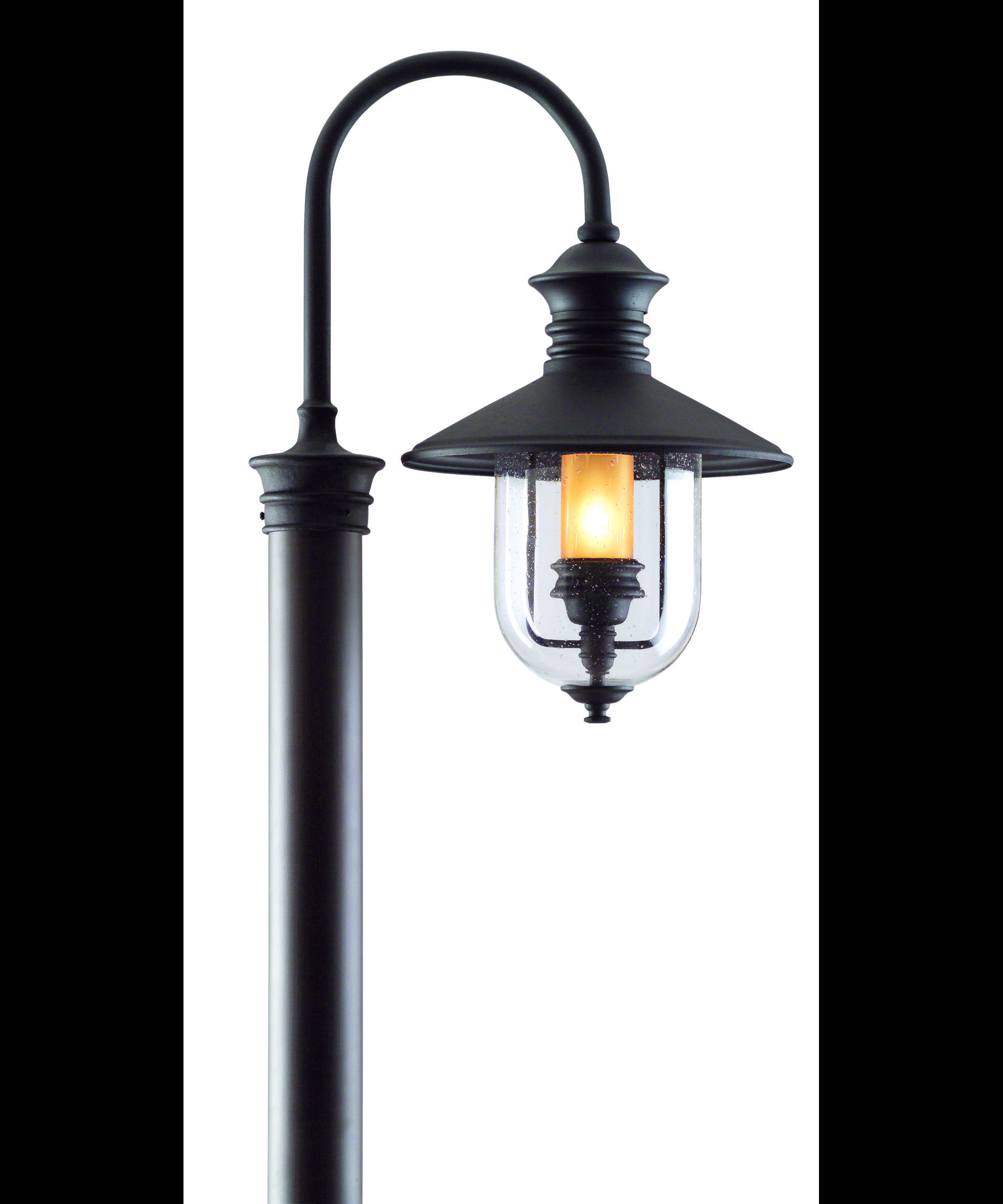 Wooden Light Post Designs Troy Lighting P9364 Old Town 1 Light Outdoor Post Lamp