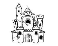 Disegni Di Castelli Da Colorare E Stampare Disegni Castelli Da