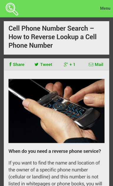 reverse cell phone lookup | Download APK for Android - Aptoide