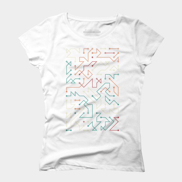 circuit t shirt by aeoll design by humans