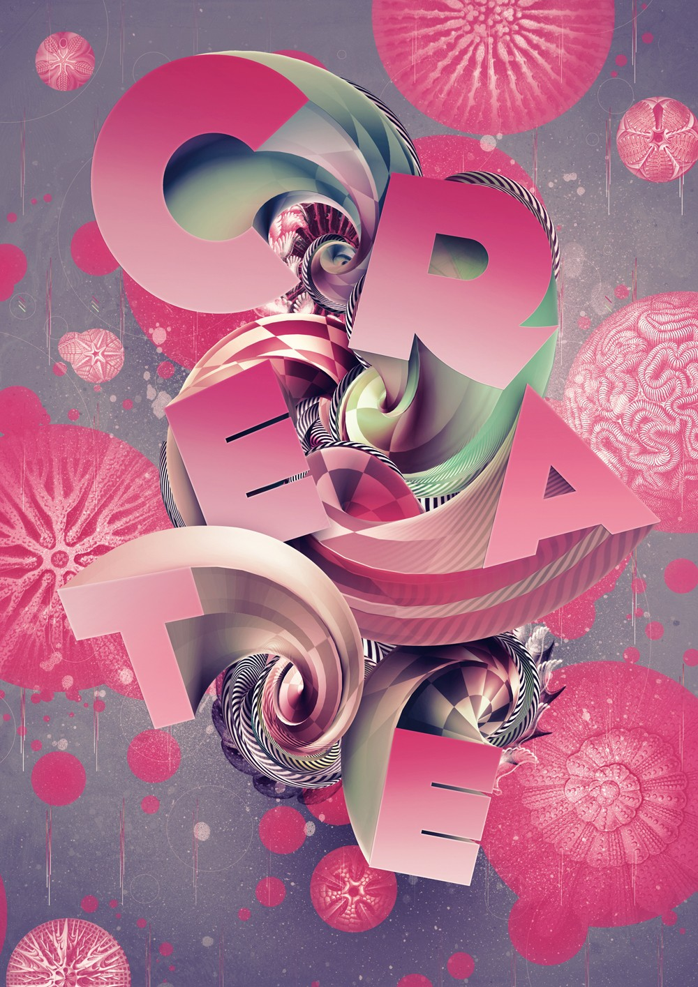 Design Art Photoshop Tutorial: Create 3d Type Art Using Photoshop Cs5
