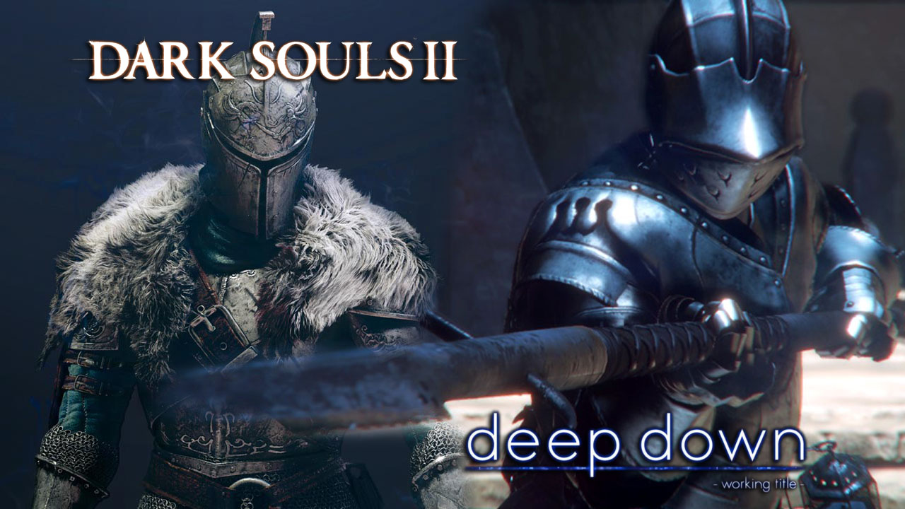 Amazing Wallpapers Hd With Quotes Deep Down Vs Dark Souls Ii Screenshot Comparison Do They