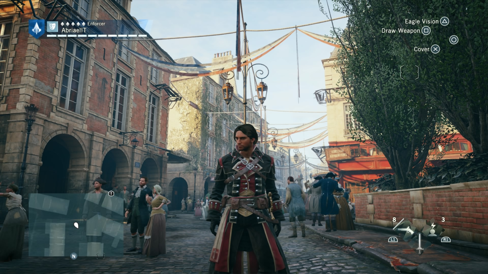 Assassins Creed Unity Hd Wallpaper Review Assassin S Creed Unity Post Patch Ambitious