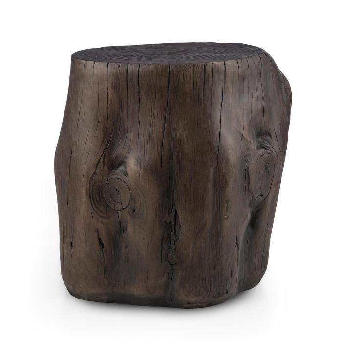 Blockhouse Chair Tree Stump Seat Garden Stool 45x44x36cm