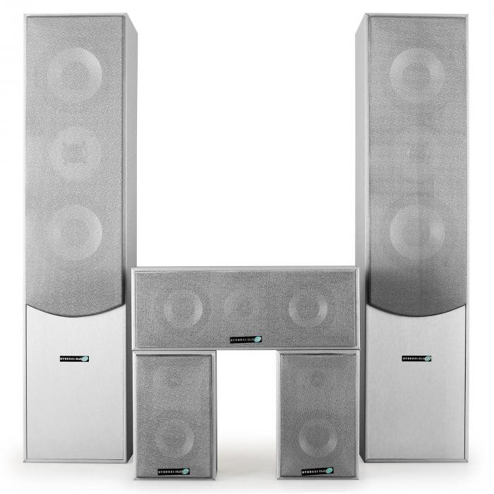 Action Stekkerdoos Surround Speaker Boxen Set Thuisbioscoop 1150w Wit