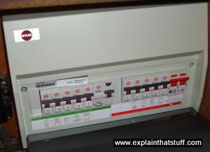110v Breaker Box Wiring Diagram How Do Surge Protectors And Fuses Work Explain That Stuff