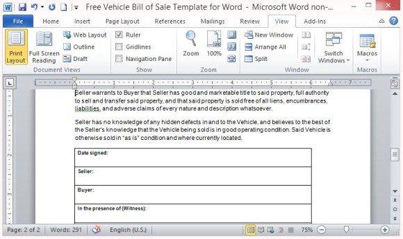 copy bill of sale - Militarybralicious - free bill of sale templates
