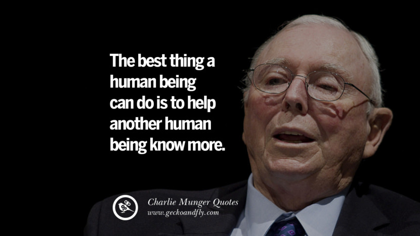 Best Life Quotes Wallpapers Hd 18 Brilliant Charlie Munger Quotes On Wall Street And