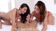 BAEBZ - Follow lesbians Leah Gotti & Nina North in hot threesome