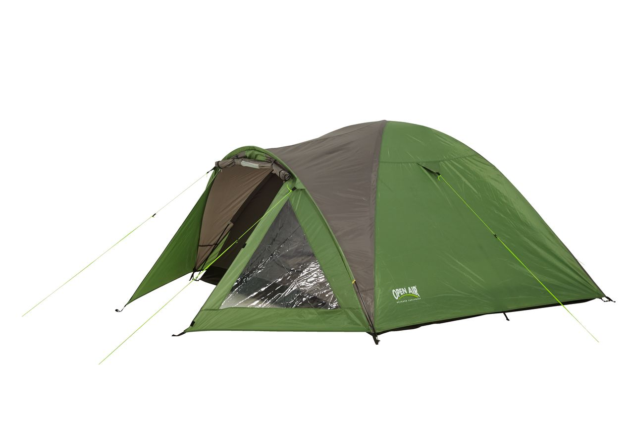 Jysk Tent Tent Nordmarka Sleeps 4 Grey Green
