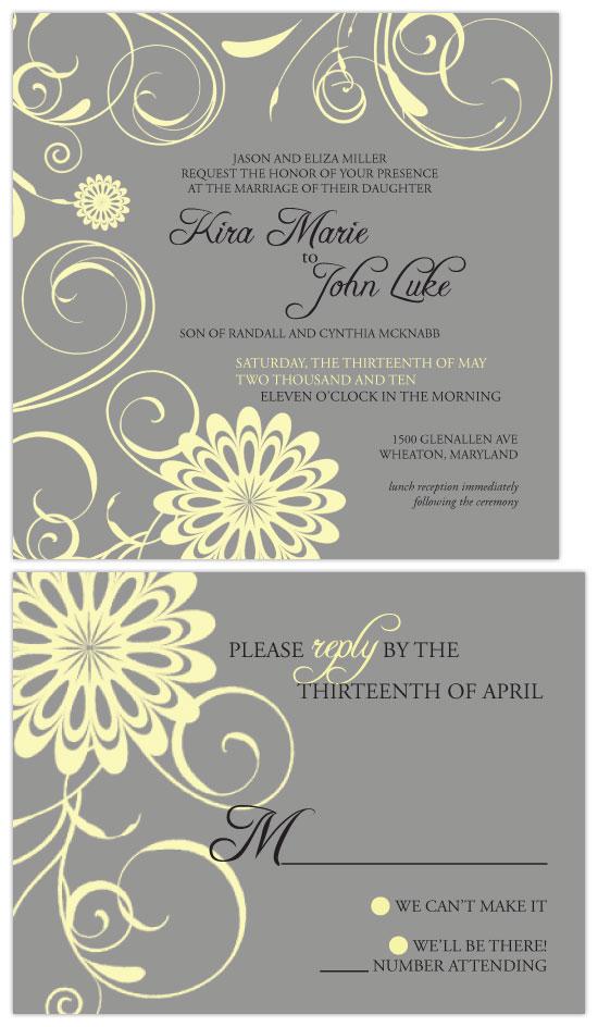 wedding invitation border design