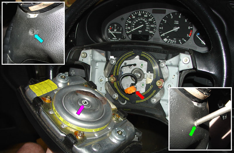 BMW E36 3-Series Steering Wheel Removal and Replacement (1992 - 1999