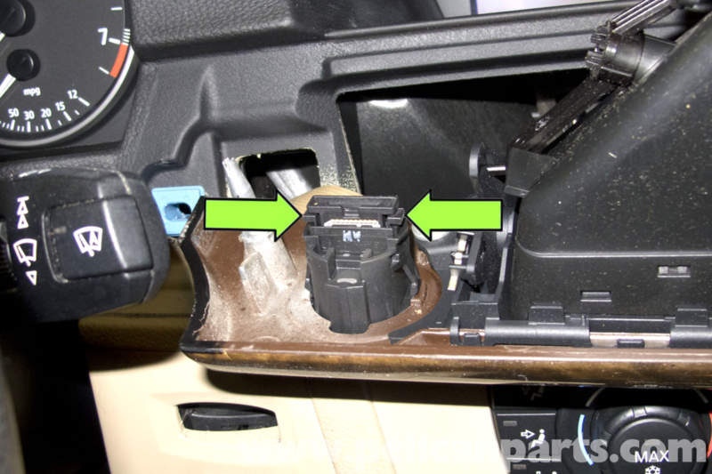BMW E90 Dashboard Hazard Headlight Switch Replacement E91, E92