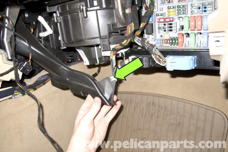 BMW E90 Blower Motor Replacement E91, E92, E93 Pelican Parts DIY