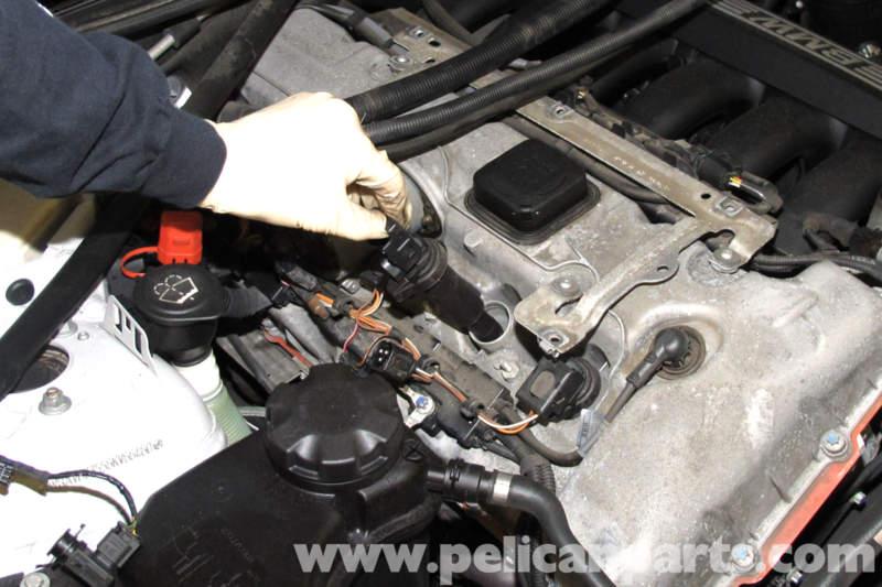 BMW E90 Spark Plug and Coil Replacement E91, E92, E93 Pelican