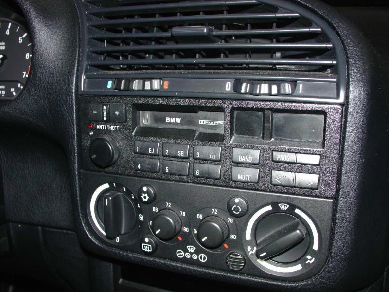 BMW E30/E36 Radio Head Unit Installation 3-Series (1983-1999
