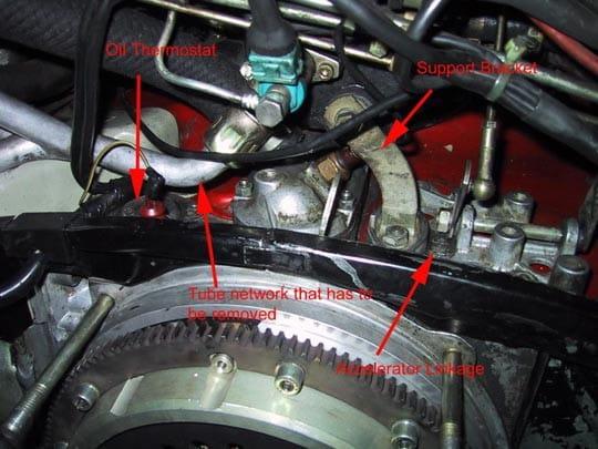 Porsche 911 Oil Leak Fixes 911 (1965-89) - 930 Turbo (1975-89