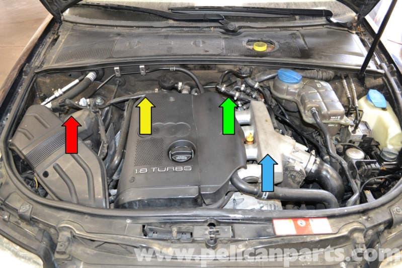 Audi A4 B6 Fixing Common Vacuum Leaks (2002-2008) Pelican Parts